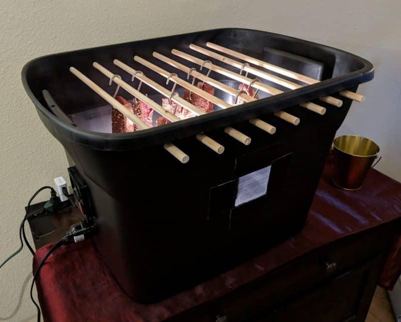 DIY biltong box