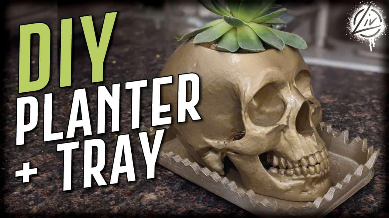 Thumbnail of a 3D printed planter